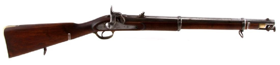 1860 BRITISH ENFIELD PERCUSSION CARBINE .63 CAL