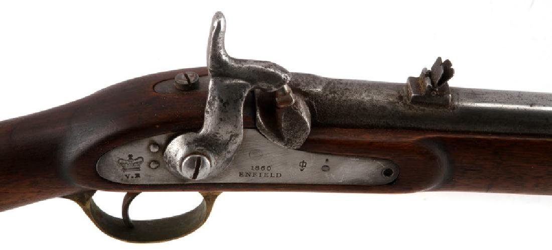 1860 BRITISH ENFIELD PERCUSSION CARBINE .63 CAL - 2