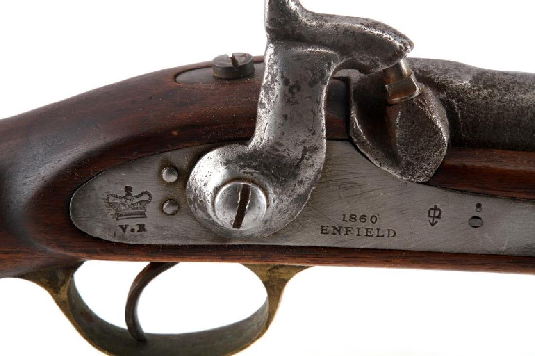 1860 BRITISH ENFIELD PERCUSSION CARBINE .63 CAL - 3