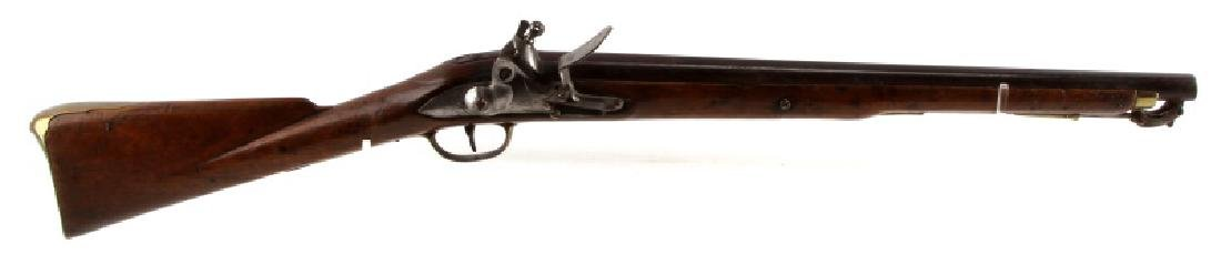 BRITISH HASKINS FLINTLOCK DRAGOON CARBINE .68 CAL