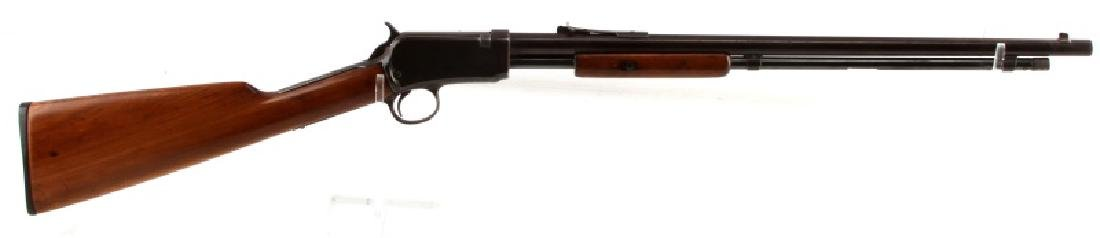 WINCHESTER M1906 SLIDE ACTION RIFLE IN .22 S L LR