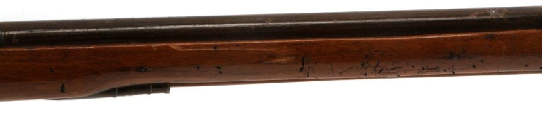 EARLY INDIAN TRADE FLINTLOCK RIFLE MUSKET .59 CAL - 3