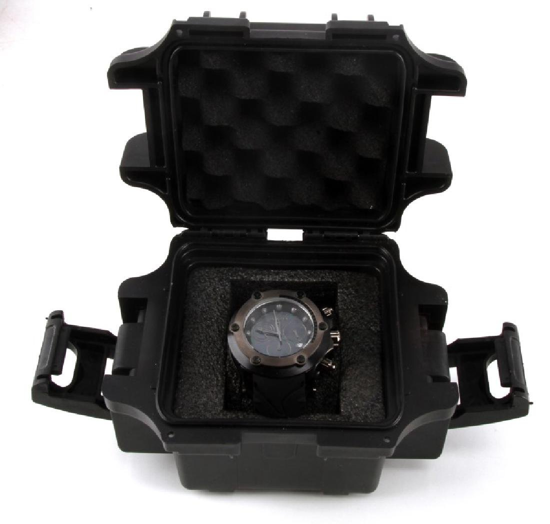 MENS INVICTA CHRONOGRAPH MOTHER OF PEARL WATCH - 4