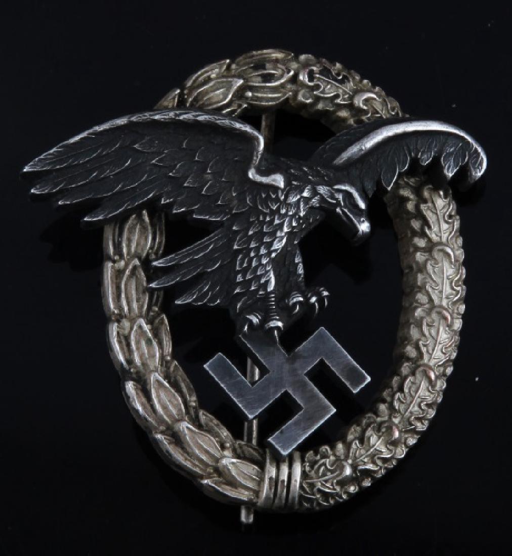 WWII GERMAN THIRD REICH LUFTWAFFE OBSERVER BADGE