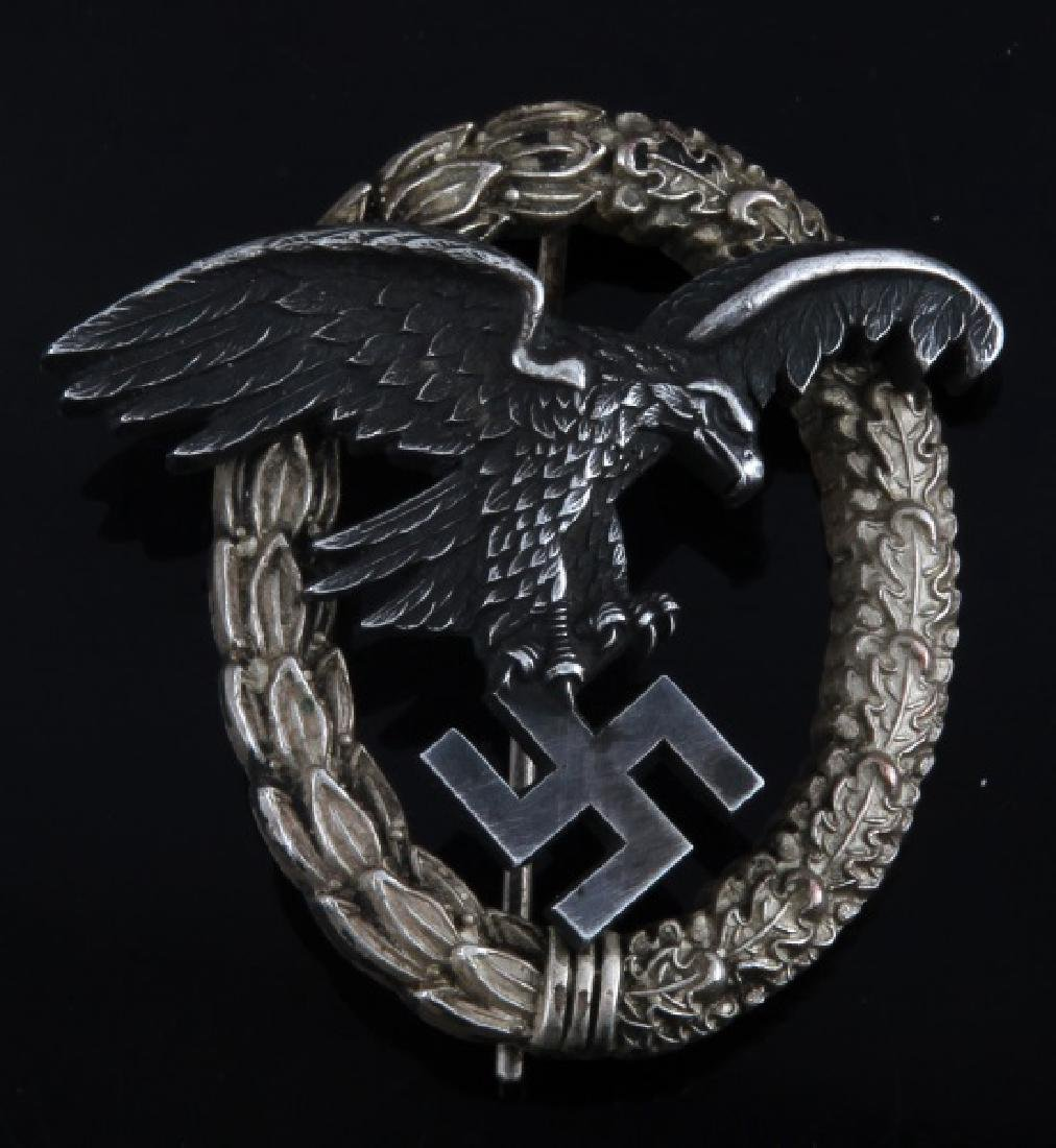 WWII GERMAN THIRD REICH LUFTWAFFE OBSERVER BADGE