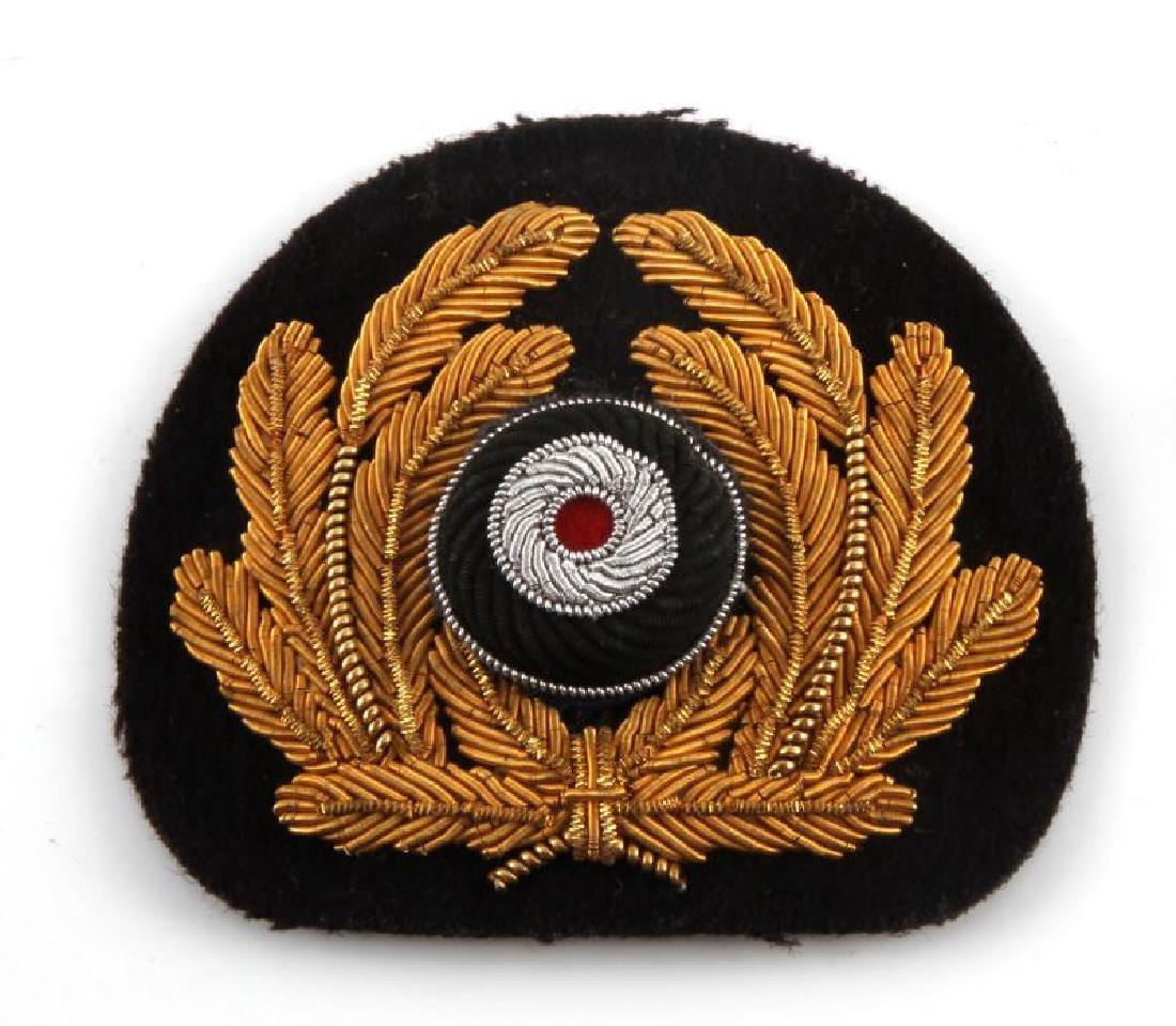 WWII GERMAN THIRD REICH KRIEGSMARINE CAP BADGE LOT - 3