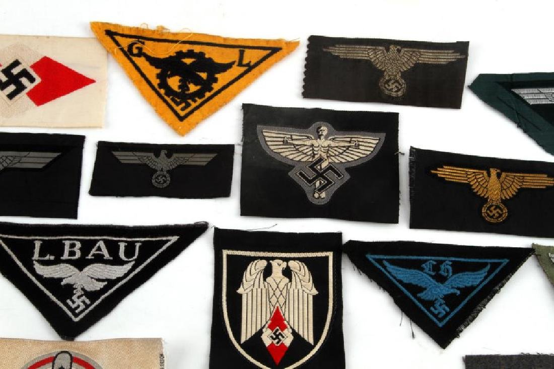 18 GERMAN WWII PATCHES LUFTWAFFE HEER NSFK JUGEND - 3