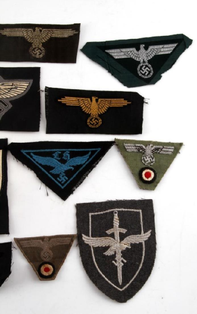 18 GERMAN WWII PATCHES LUFTWAFFE HEER NSFK JUGEND - 4