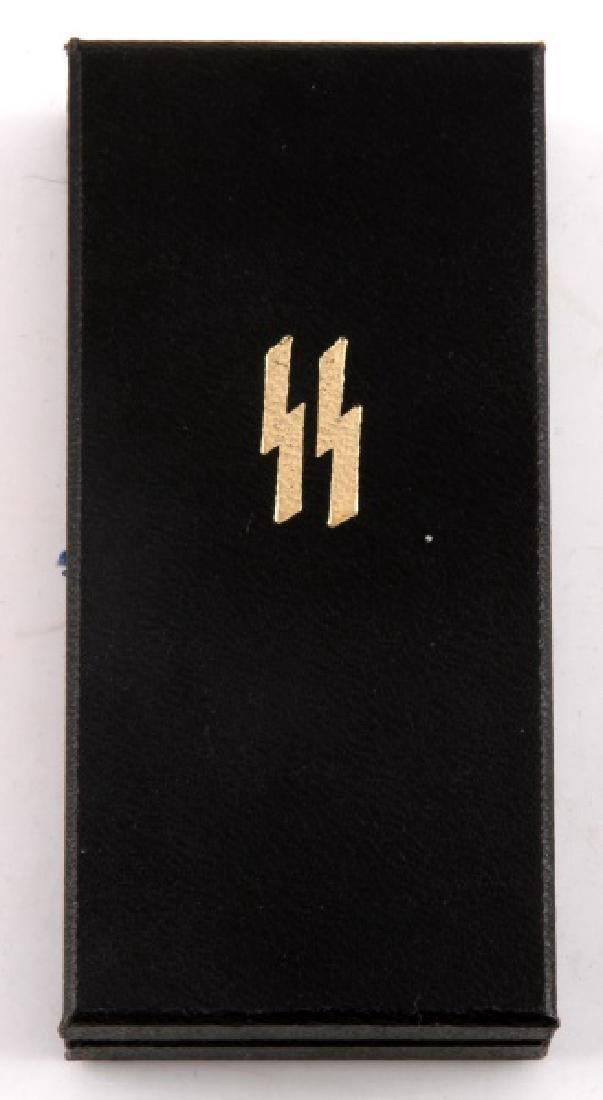 WWII GERMAN 3RD REICH SS 8 YEAR LONG SERVICE MEDAL - 3