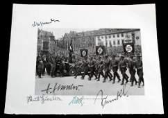 WWII GERMAN THIRD REICH NSDAP FIGURE SIGNED PHOTO