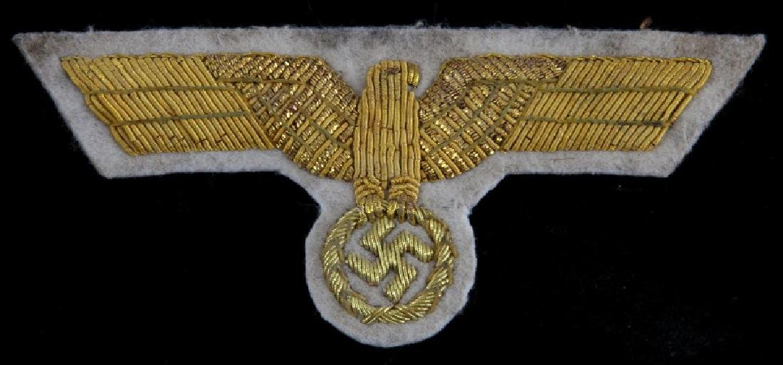 WWII GERMAN WEHRMACHT GENERAL SUMMER BREAST EAGLE