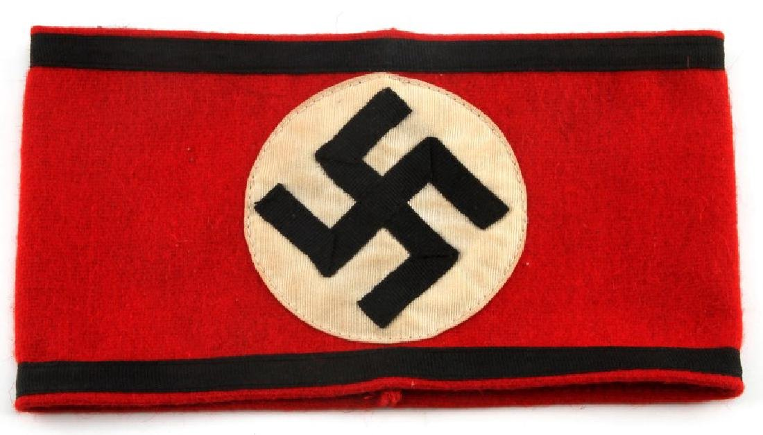 WWII GERMAN THIRD REICH WAFFEN SS UNIFORM ARMBAND