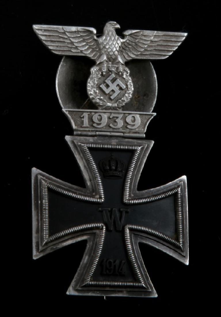 WWII GERMAN THIRD REICH IRON CROSS SPANGE COMBO