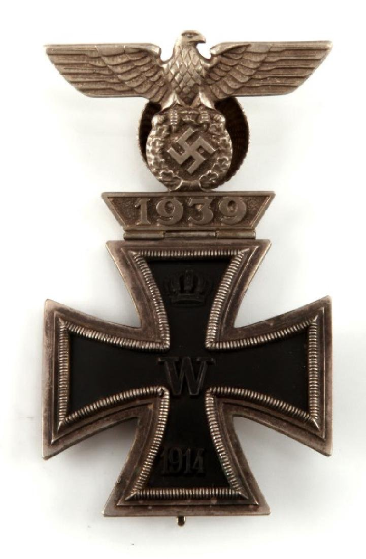WWII GERMAN THIRD REICH IRON CROSS AND SPANGE