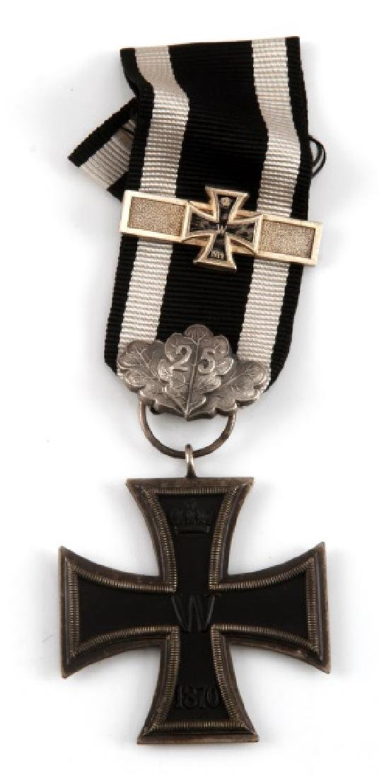 WWI GERMAN 1870 IRON CROSS 2ND CLASS W/ 1914 SPANGE