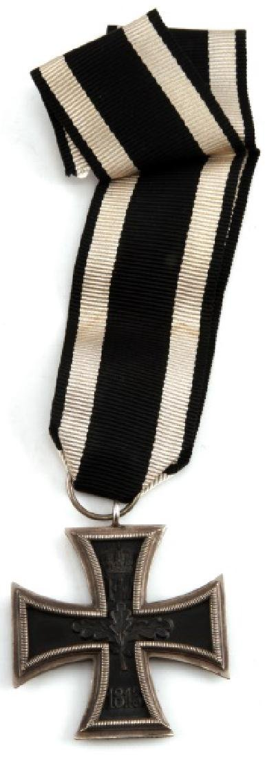 WWI GERMAN 1813 UNISSUED SECOND CLASS IRON CROSS