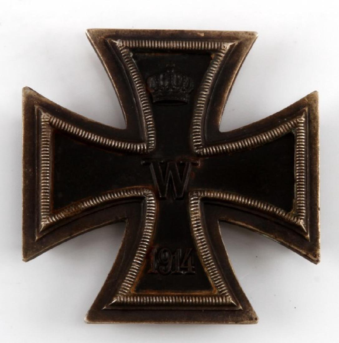 WWI IMPERIAL GERMAN 1ST CLASS IRON CROSS 1914 TYPE