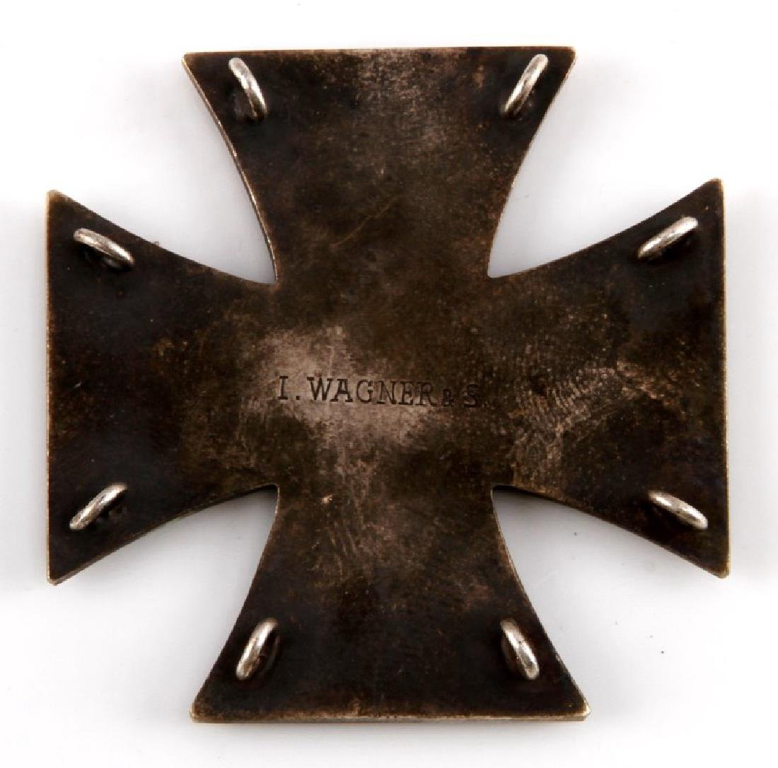 WWI IMPERIAL GERMAN 1ST CLASS IRON CROSS 1914 TYPE - 2