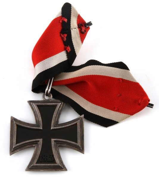 WWII GERMAN THIRD REICH KNIGHTS CROSS WITH RIBBON