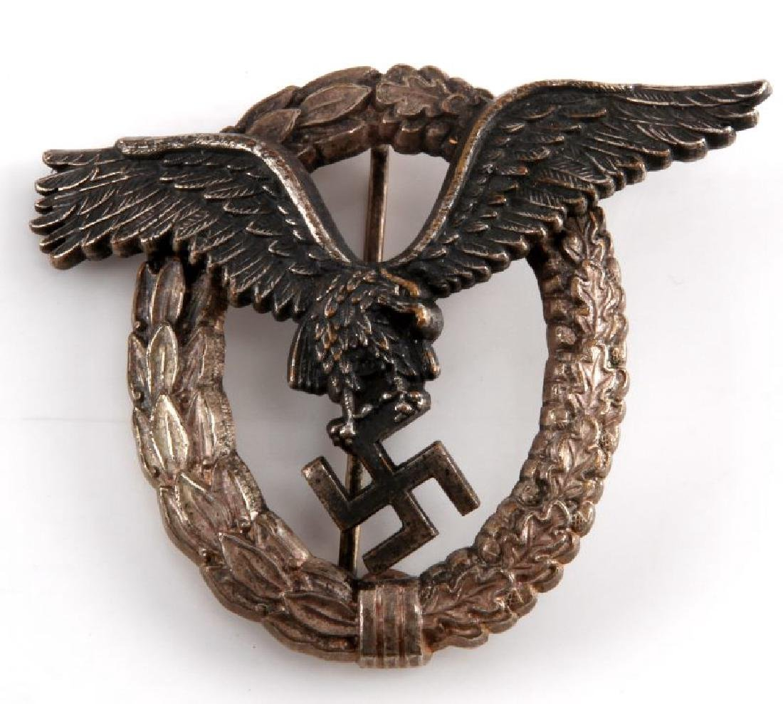 GERMAN WWII LUFTWAFFE PILOT BADGE JUNKER