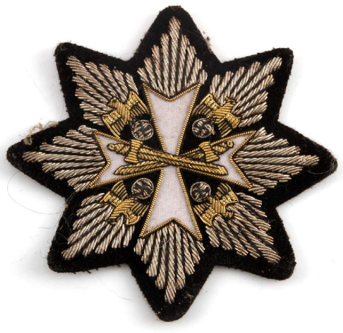 ORDER OF THE GERMAN EAGLE CLOTH PATCH VARIANT
