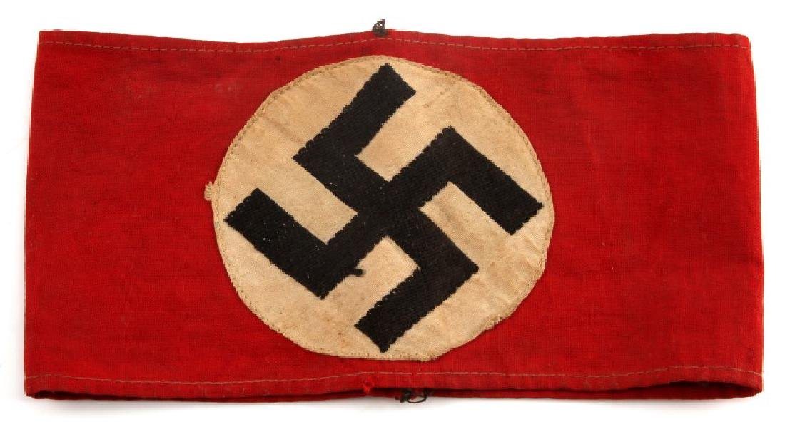 WWII GERMAN THIRD REICH NSDAP STANDARD ARM BAND