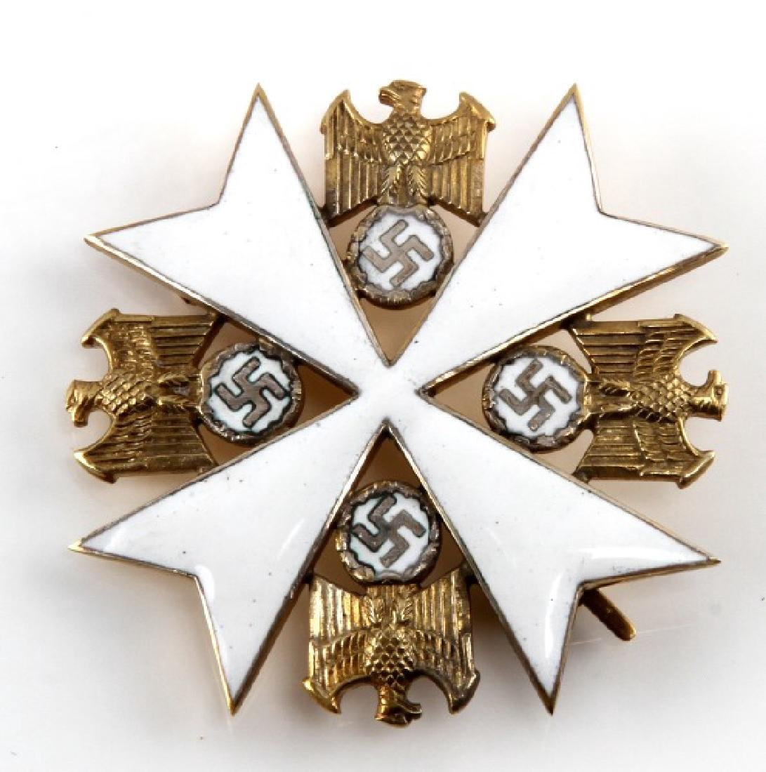 WWII GERMAN THIRD REICH EAGLE ORDER 4TH CLASS