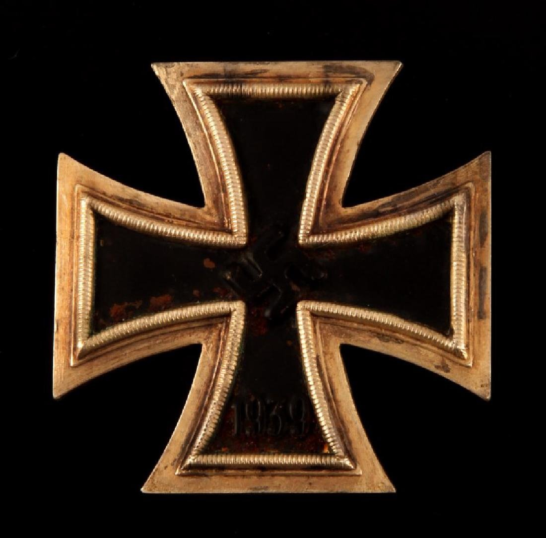 GERMAN WWII 1ST CLASS IRON CROSS PIN BACK