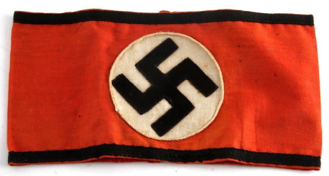 WWII GERMAN THIRD REICH WAFFEN SS ARMBAND