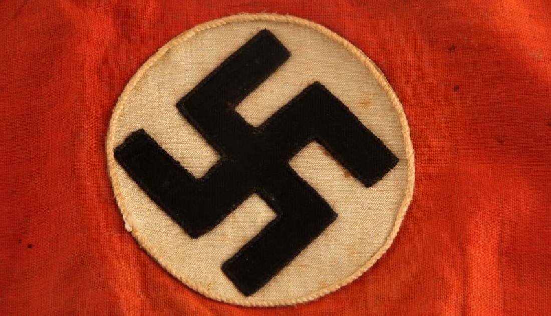 WWII GERMAN THIRD REICH WAFFEN SS ARMBAND - 2