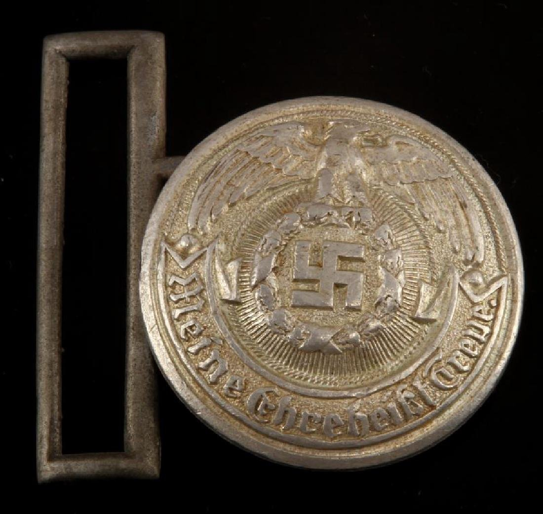 WWII GERMAN THIRD REICH SS BELT BUCKLE