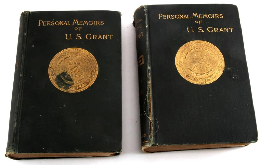 AMERICAN CIVIL WAR GRANT MEMOIRS FIRST EDITION