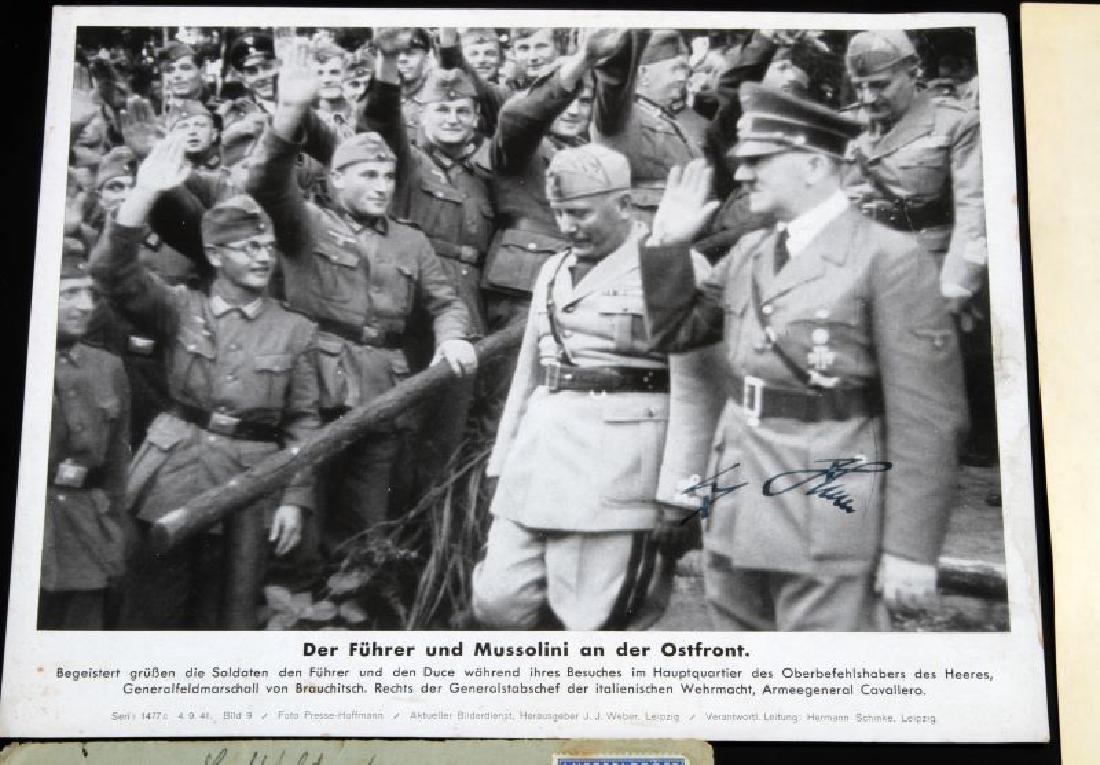 WWII GERMAN THIRD REICH COMMENDATION DOCUMENT LOT - 2
