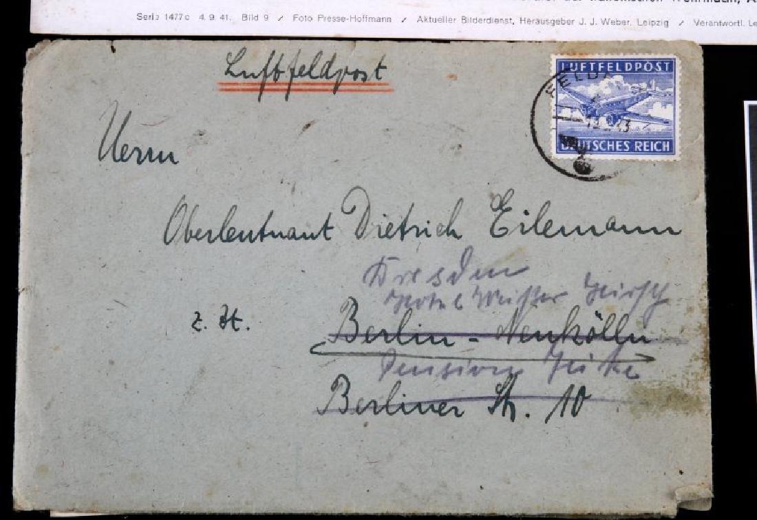 WWII GERMAN THIRD REICH COMMENDATION DOCUMENT LOT - 5