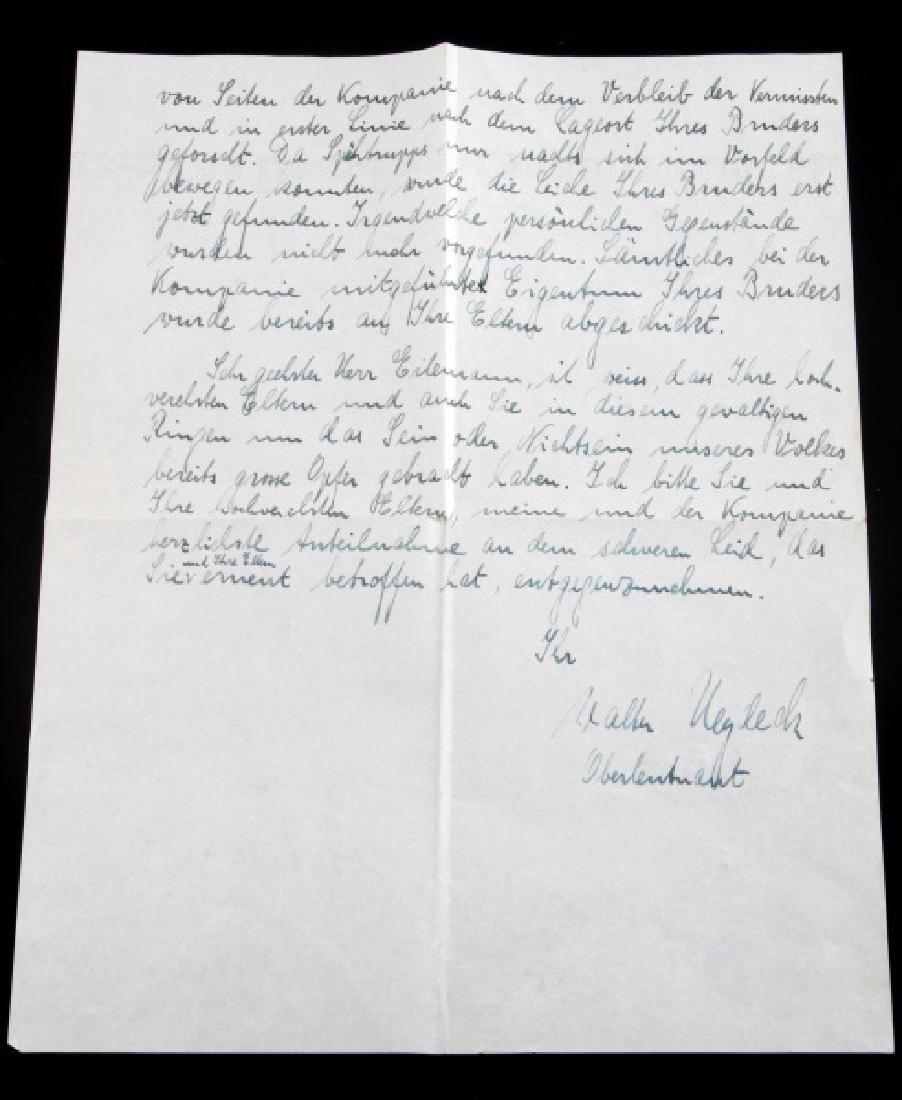 WWII GERMAN THIRD REICH COMMENDATION DOCUMENT LOT - 8