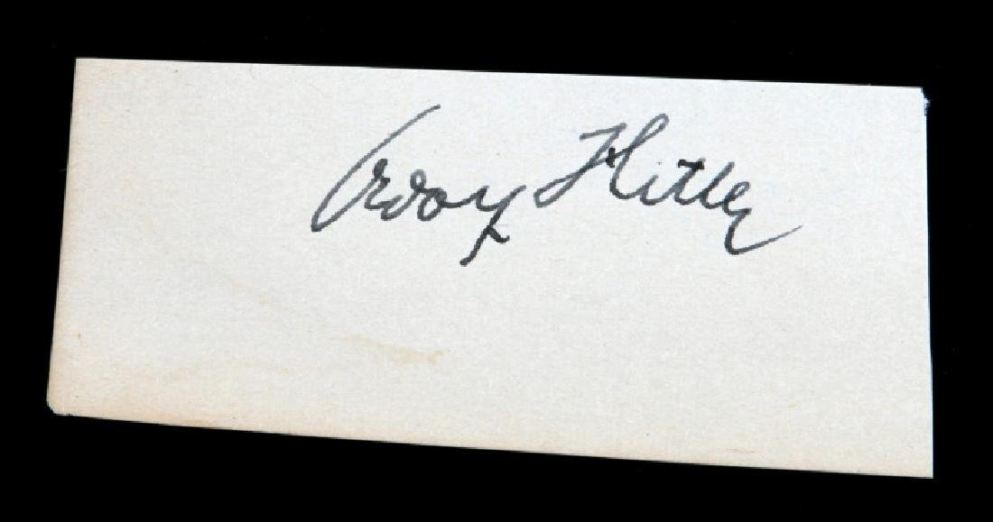 WWII GERMAN THIRD REICH ADOLF HITLER AUTOGRAPH