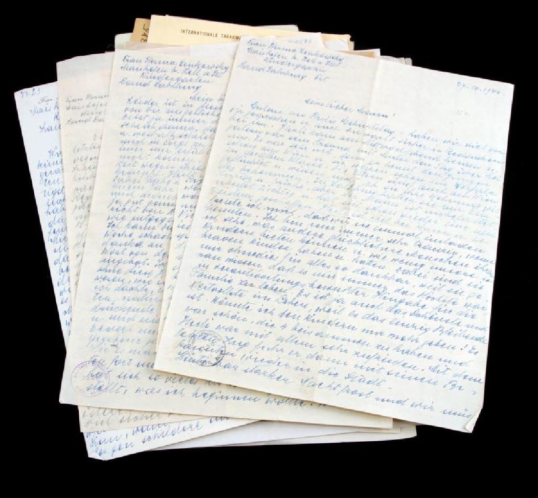DR. HERMANN SENKOWSKY SS OBERFUHRER DOCUMENTS - 2