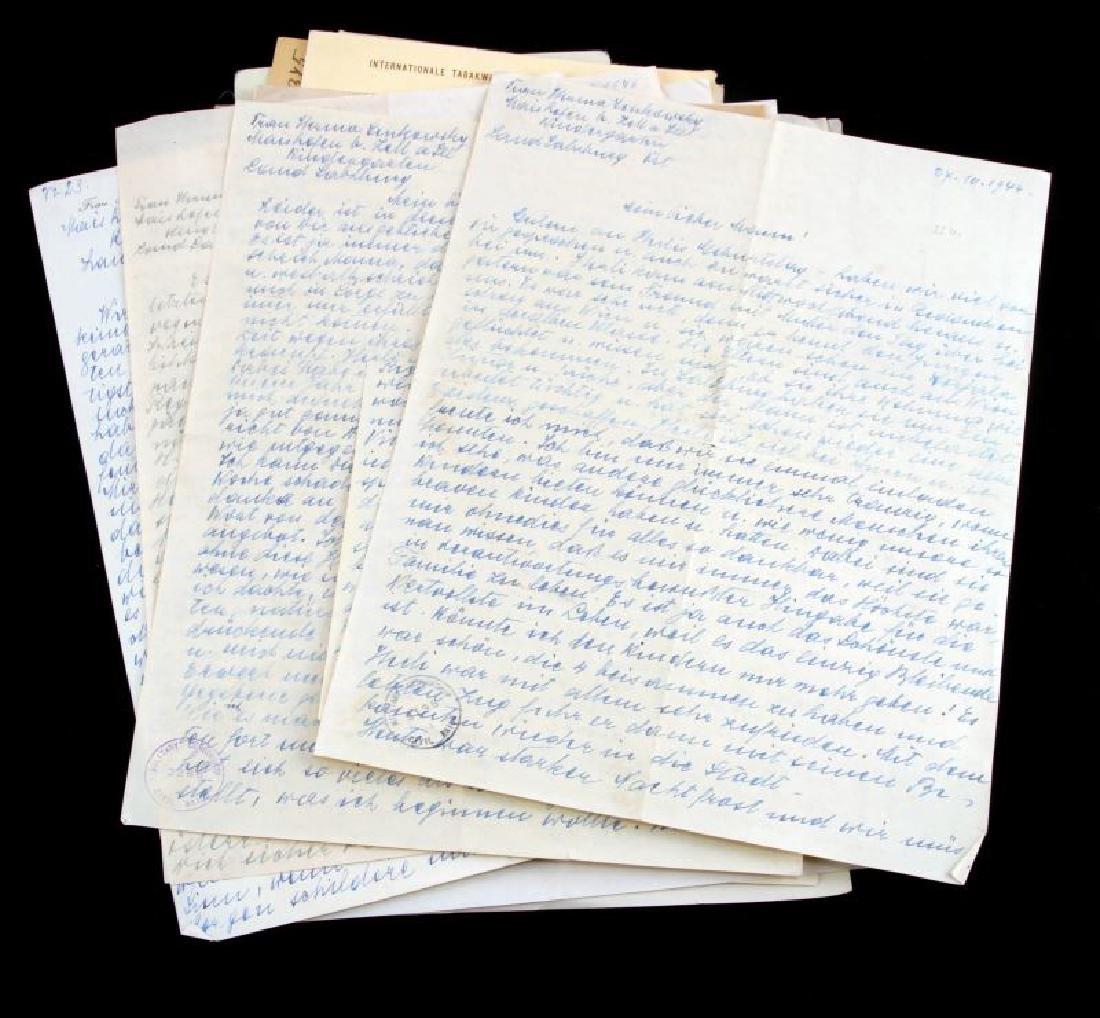 DR. HERMANN SENKOWSKY SS OBERFUHRER DOCUMENTS - 2