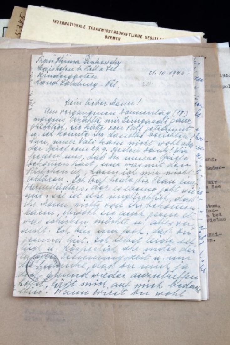 DR. HERMANN SENKOWSKY SS OBERFUHRER DOCUMENTS - 4