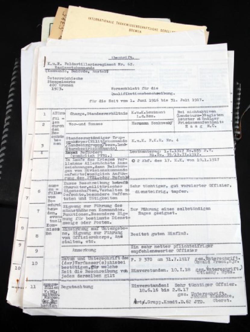 DR. HERMANN SENKOWSKY SS OBERFUHRER DOCUMENTS - 7