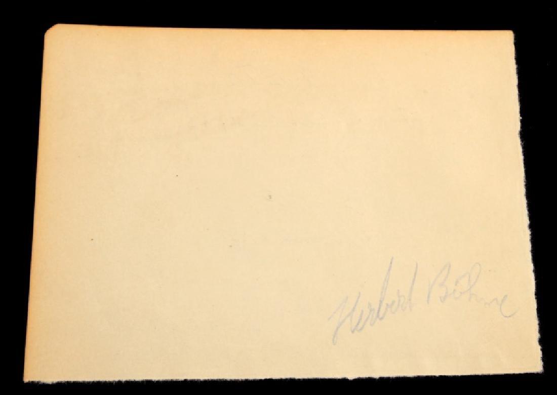 WWII ADOLF HITLER 1937 HOTEL REGISTRY SIGNATURE - 3