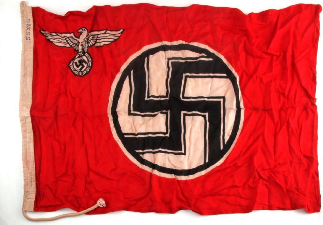WWII GERMAN THIRD REICH REICHS SERVICE FLAG