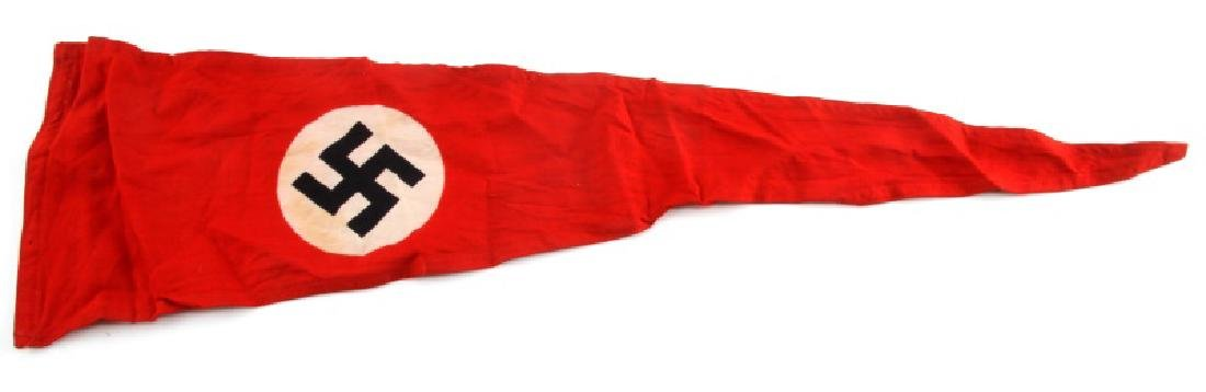 WWII GERMAN THIRD REICH NATIONAL EMBLEM PENNANT