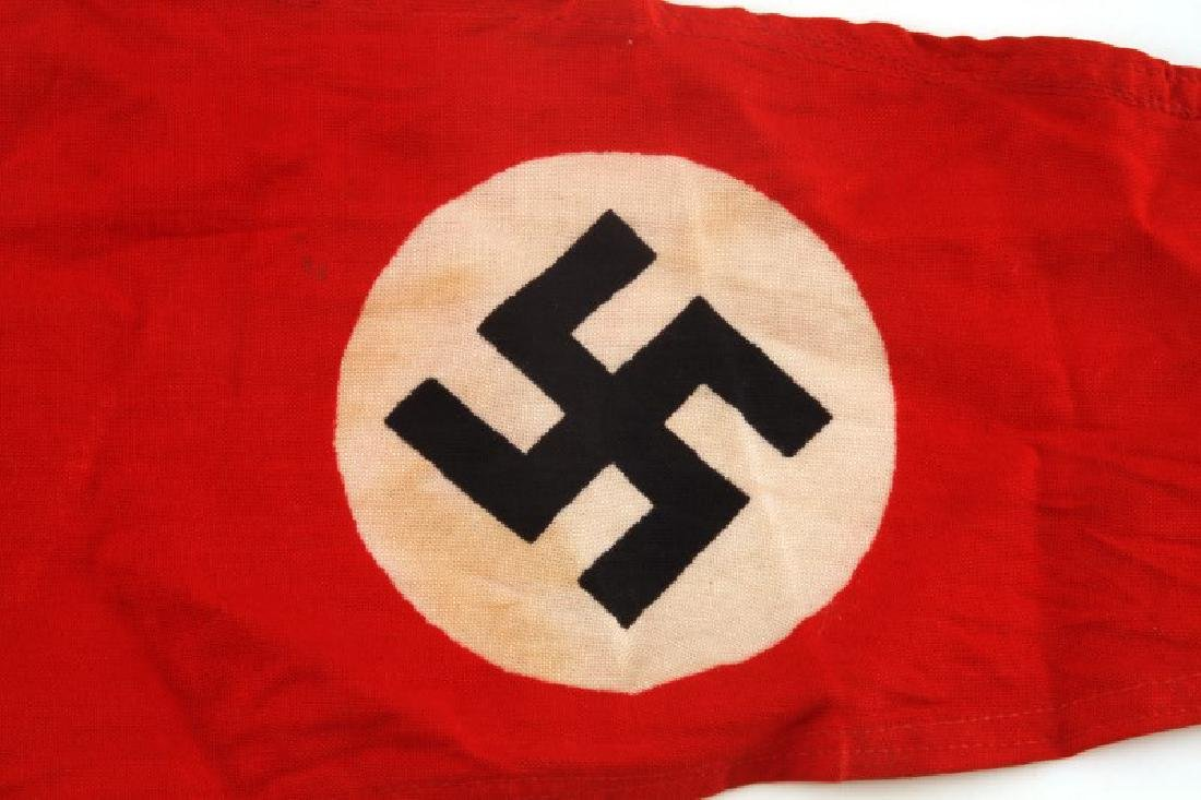WWII GERMAN THIRD REICH NATIONAL EMBLEM PENNANT - 2