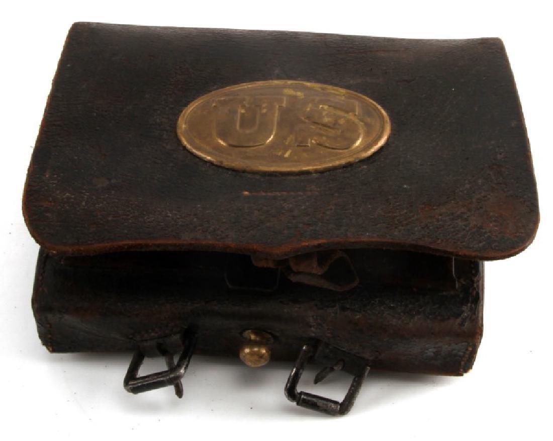 CIVIL WAR L.S. BAKER MAKER U.S. CARTRIDGE CASE