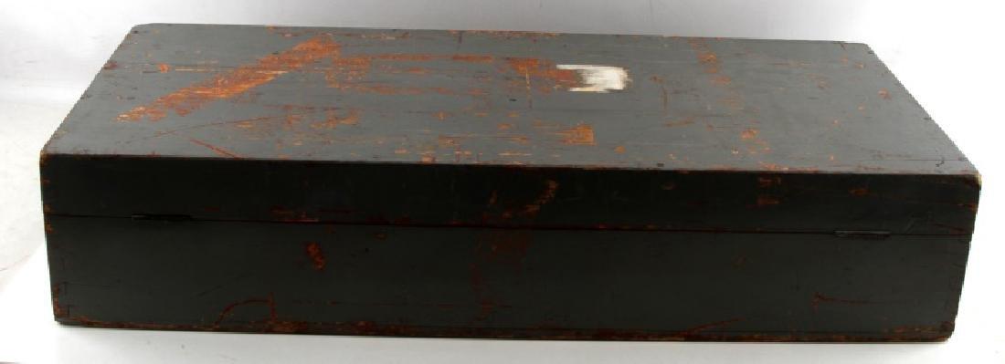 WWII JAPANESE BIG EYE BINOCULAR BOX AND STAND - 6