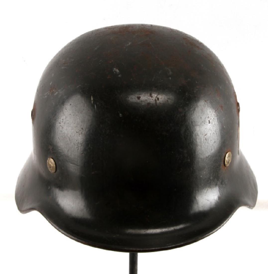 WWII GERMAN THIRD REICH M-40 COMBAT HELMET HEER