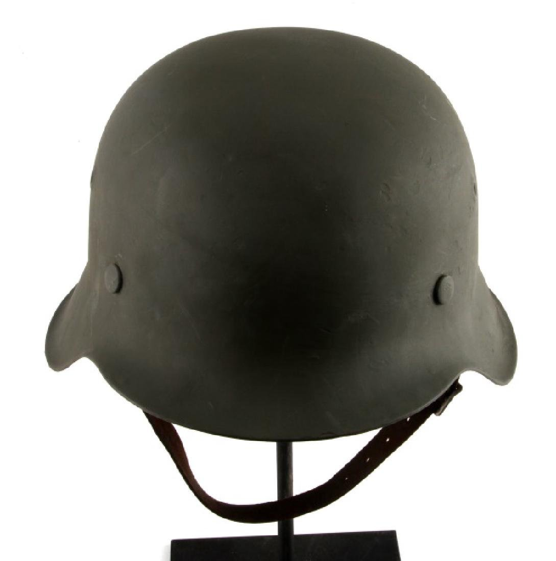WWII GERMAN THIRD REICH M42 STAHLHELM AND LINER