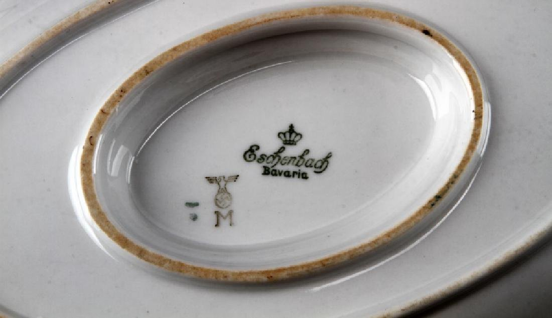 WWII GERMAN 3RD REICH MILITARY MESS HALL DISH LOT - 10