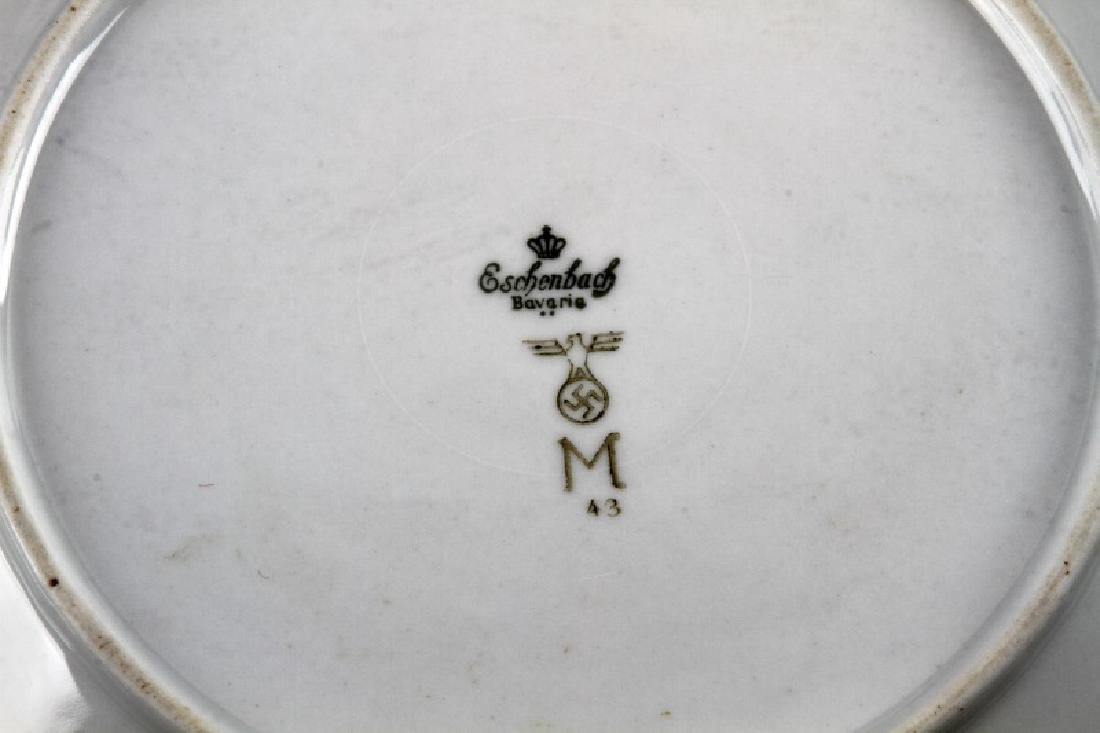 WWII GERMAN 3RD REICH MILITARY MESS HALL DISH LOT - 6